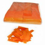 Stage Effects confetti 55 x 17 mm bulkbag 1kg Orange