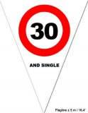 "Puntvlagjes ""30 and single"""