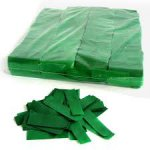 Stage Effects confetti 55 x 17 mm bulkbag 1kg Green