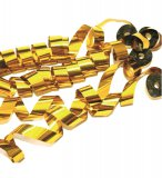 Stage Effects metallic streamers 5mx2cm goud 20 stuks