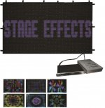 Stage Effects Led Display Curtain RGB 2m x 3m