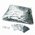 Stage Effects confetti 55 x 17 mm bulkbag 1kg Zilver