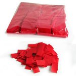 Stage Effects confetti 55 x 17 mm bulkbag 1kg Red