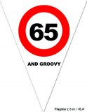 "Puntvlagjes ""65 and groovy"""